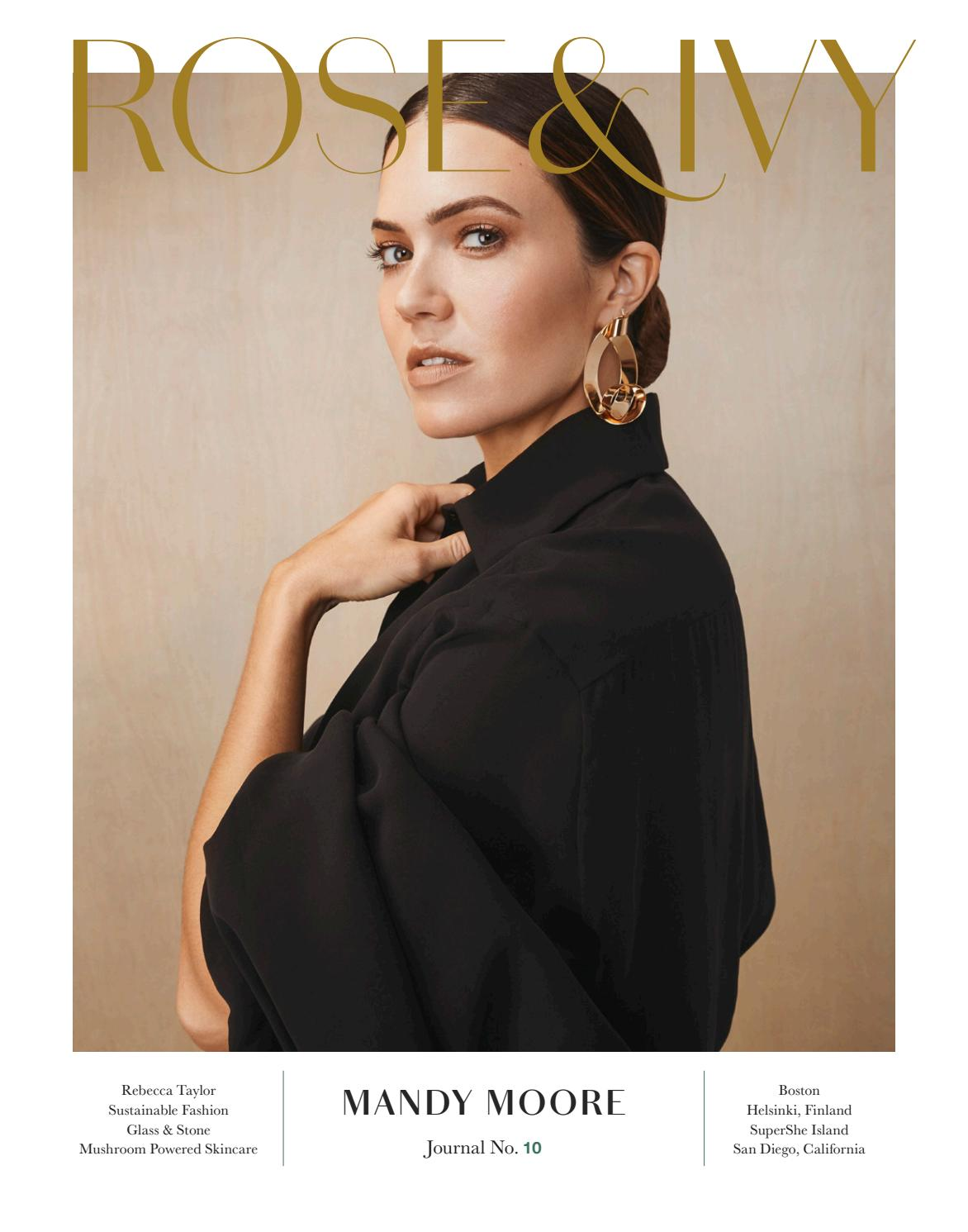 78e869c8ad06 ROSE   IVY Journal Issue No.10 Starring Mandy Moore by ROSE   IVY Journal -  issuu