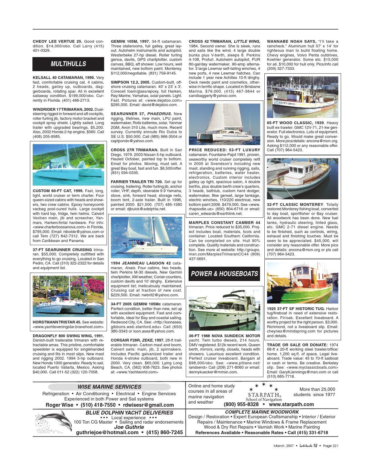Latitude 38 March 2007 by Latitude 38 Media, LLC - issuu