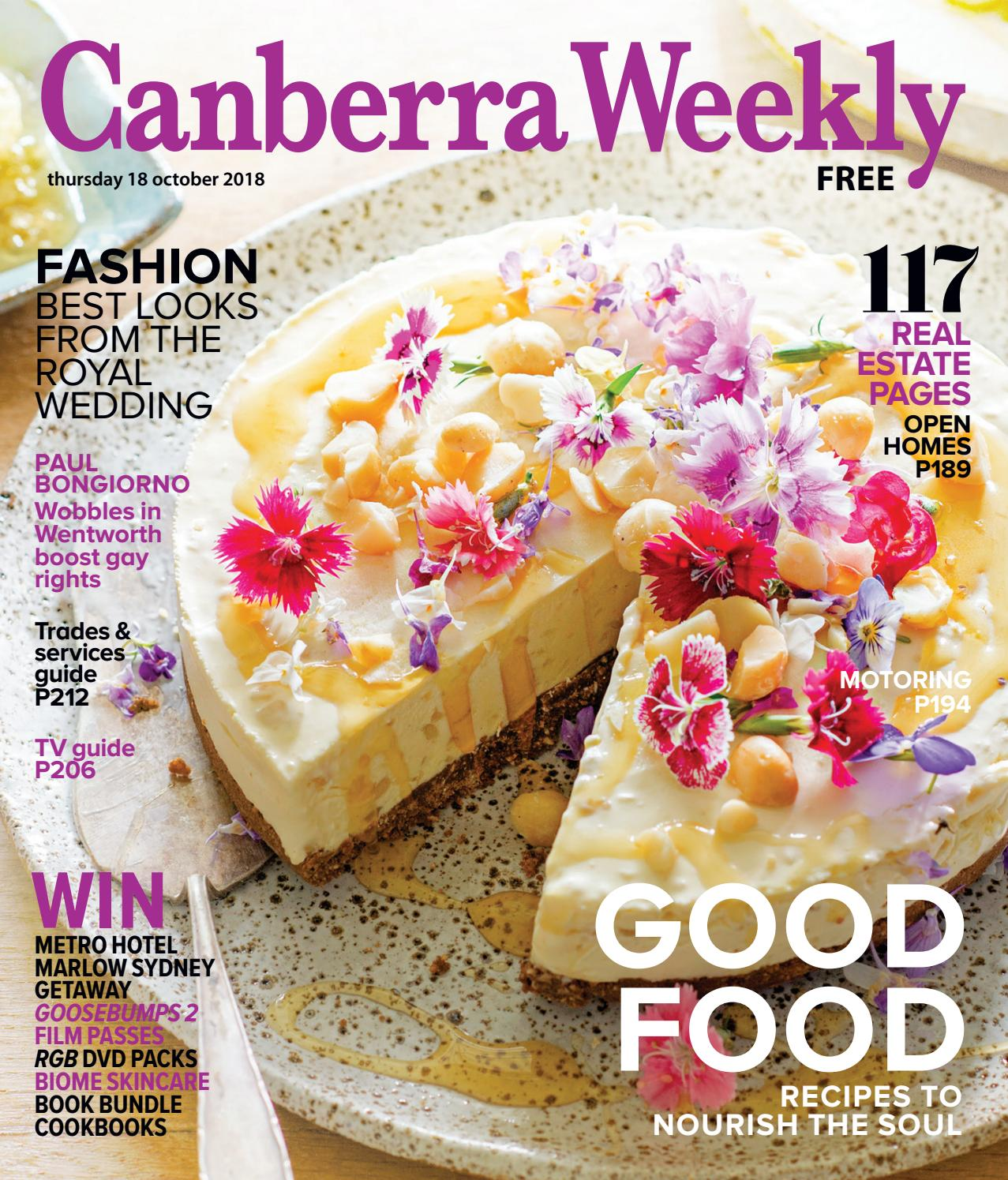 93a2000f5 18 October 2018 by Canberra Weekly Magazine - issuu