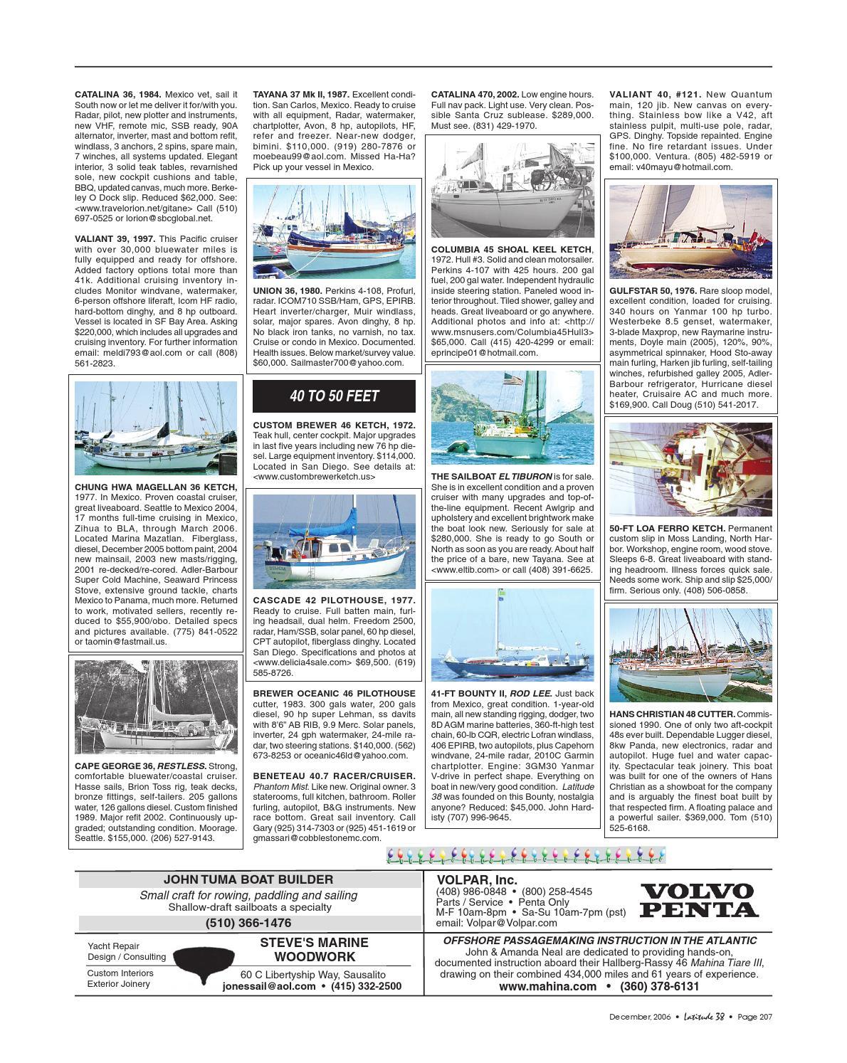 Latitude 38 December 2006 by Latitude 38 Media, LLC - issuu