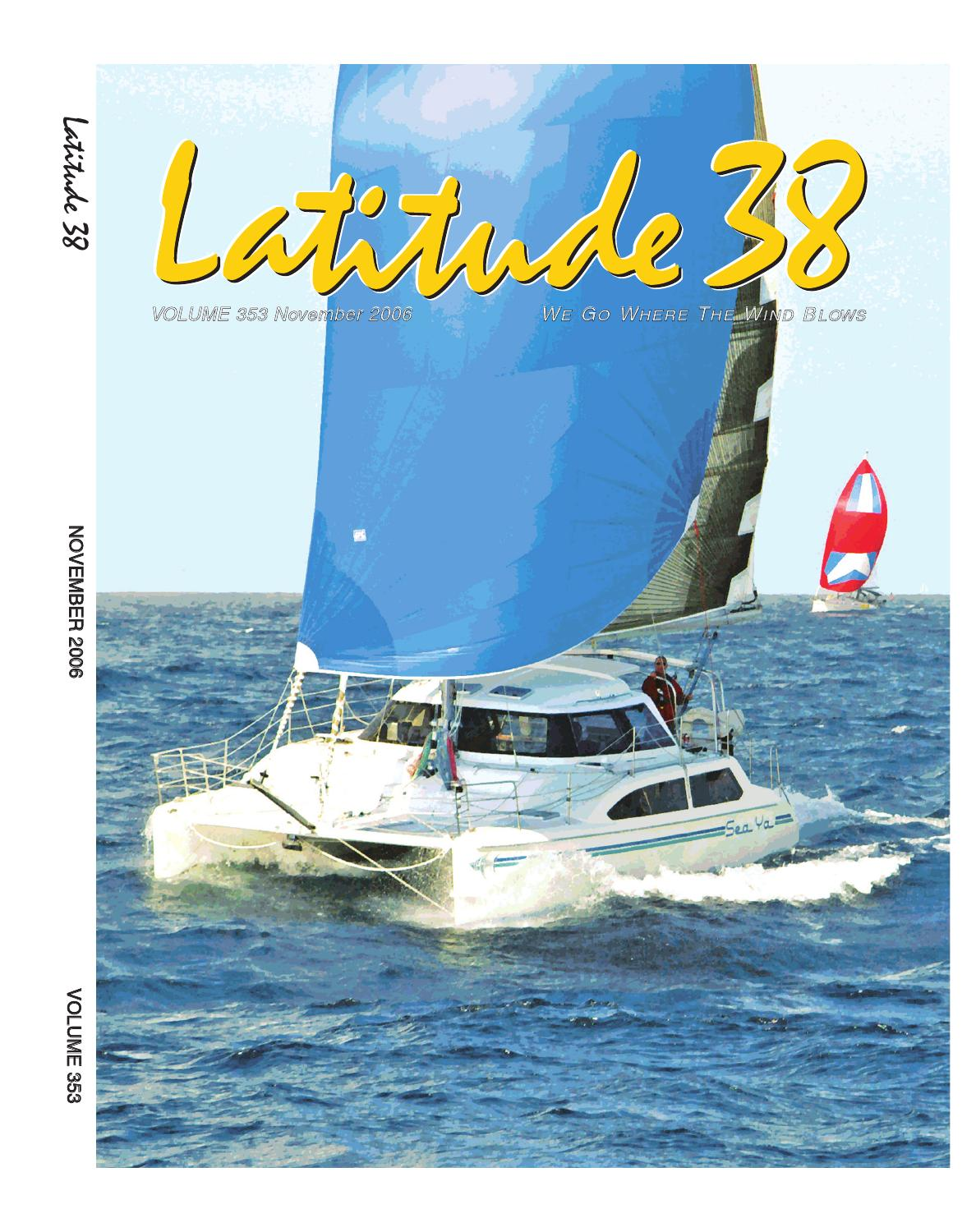 Latitude 38 November 2006 By Media Llc Issuu Boat Trailer Light Wiring Harness 4 Flat 35ft To Redo Lights