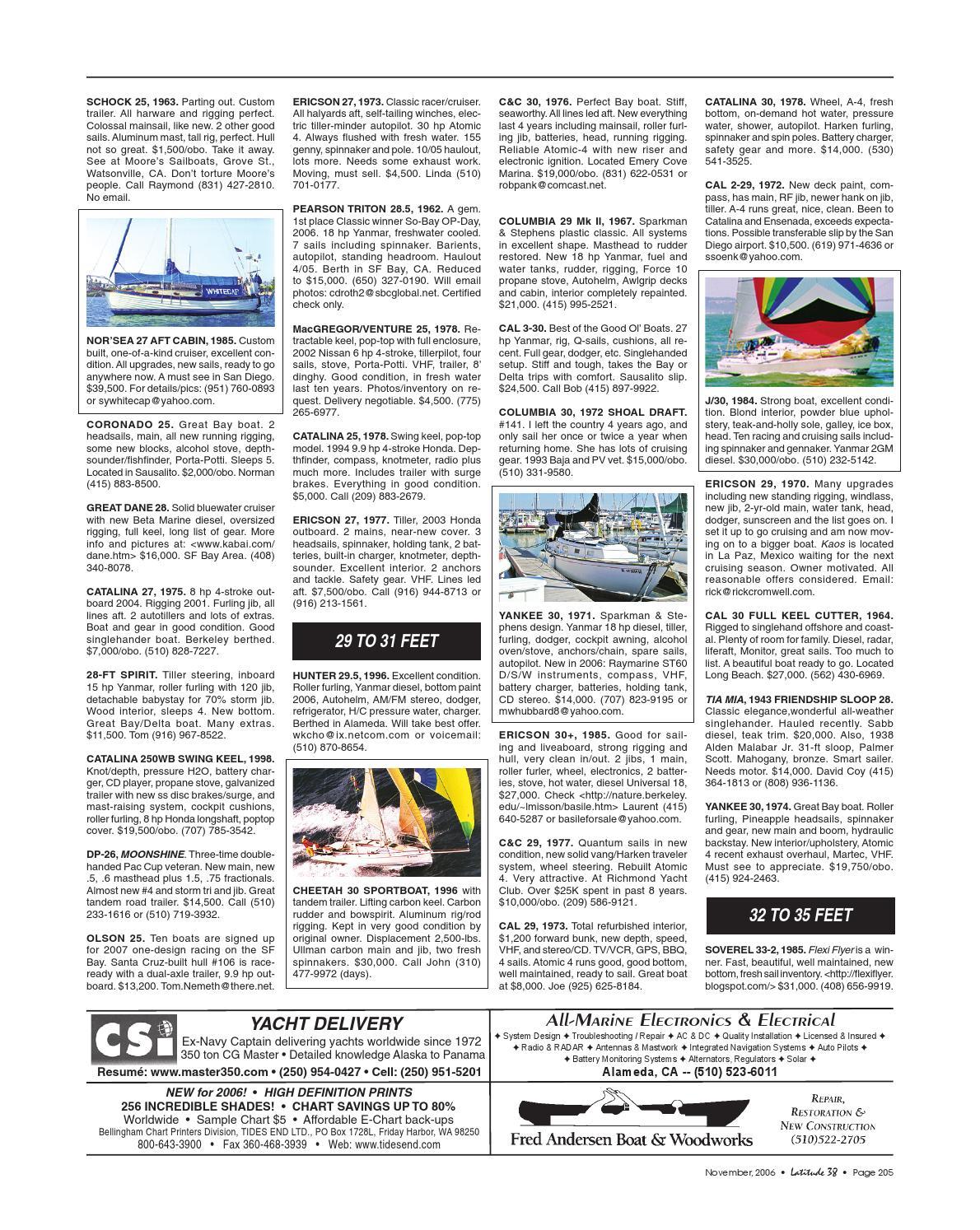 Latitude 38 November 2006 by Latitude 38 Media, LLC - issuu