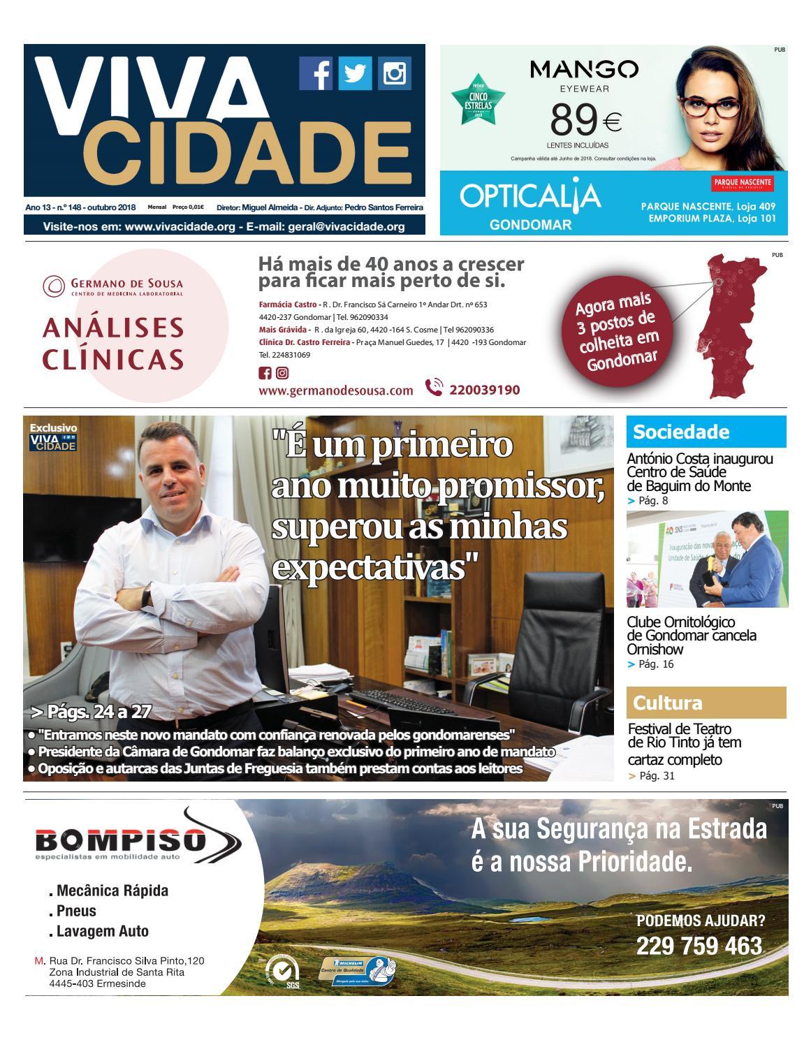 a74921e3d6 Edição de outubro de 2018 by Jornal Vivacidade - issuu