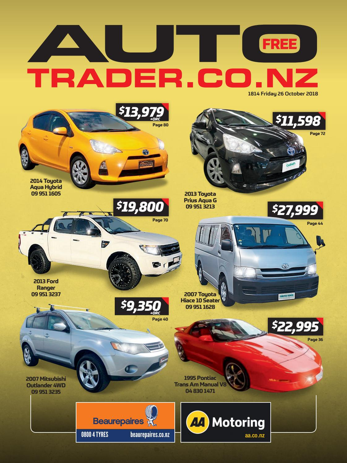 Autotrader NZ - Issue 1814 by AutotraderNZ - issuu