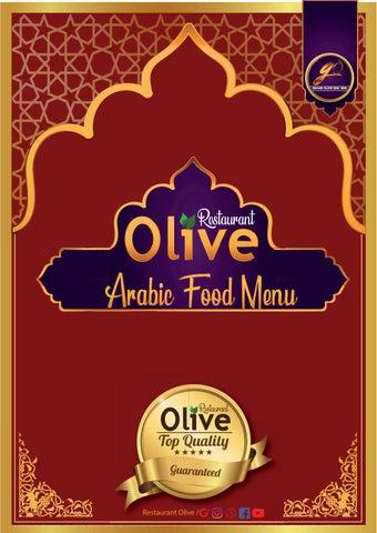 Restaurant Olive - Arabic Food Menu by restaurantolive10 - issuu