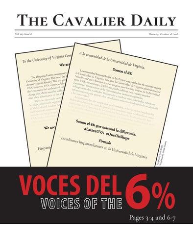 e323d97e3690 Thursday, October 18, 2018 by The Cavalier Daily - issuu