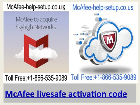 McAfee livesafe activation code,McAfee activation code free