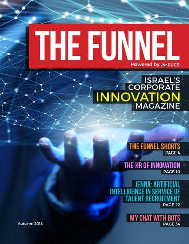 Page 1 of The Funnel | Autumn 2018 issue