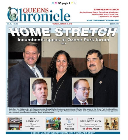 queens chronicle south edition 10 25 18 by queens chronicle issuu8943441 Yoga Shirts That Stay Put #2