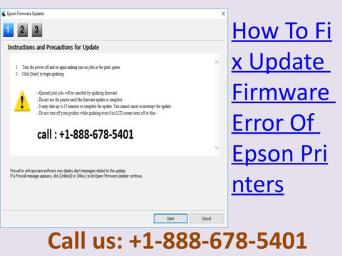 Dial +1-888-678-5401 How To Fix Update Firmware Error Of