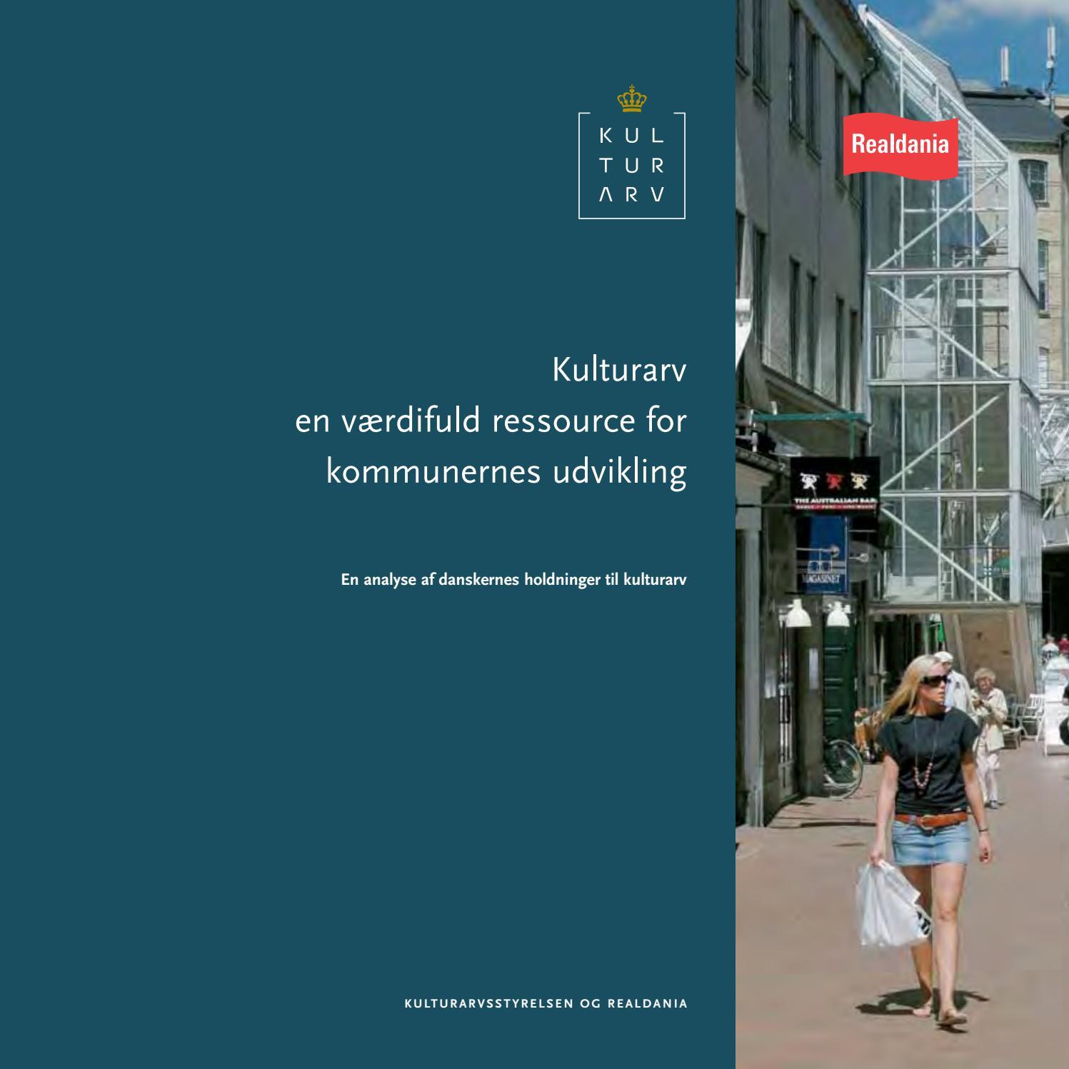 Kulturarv En Vaerdifuld Ressource For Kommunernes Udvikling By