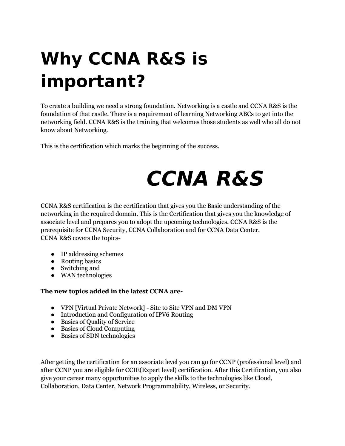 ccna data center vs ccna security