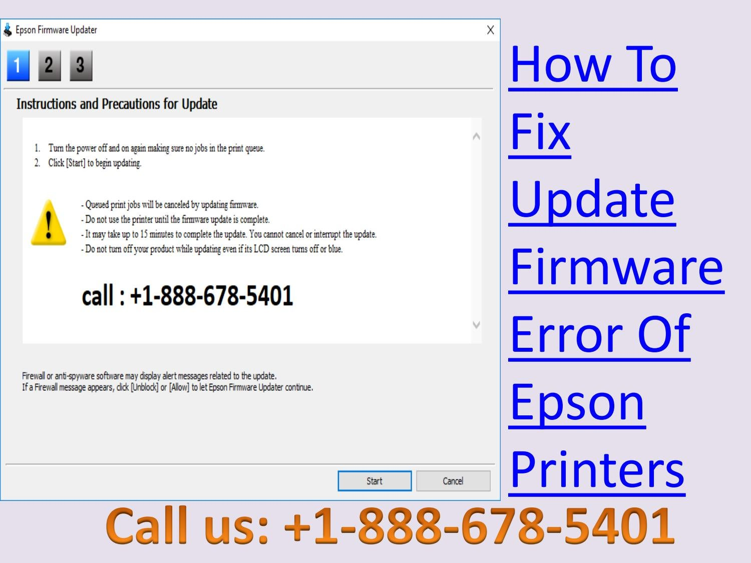 Dial +1-888-678-5401 How To Fix Update Firmware Error Of Epson Printers