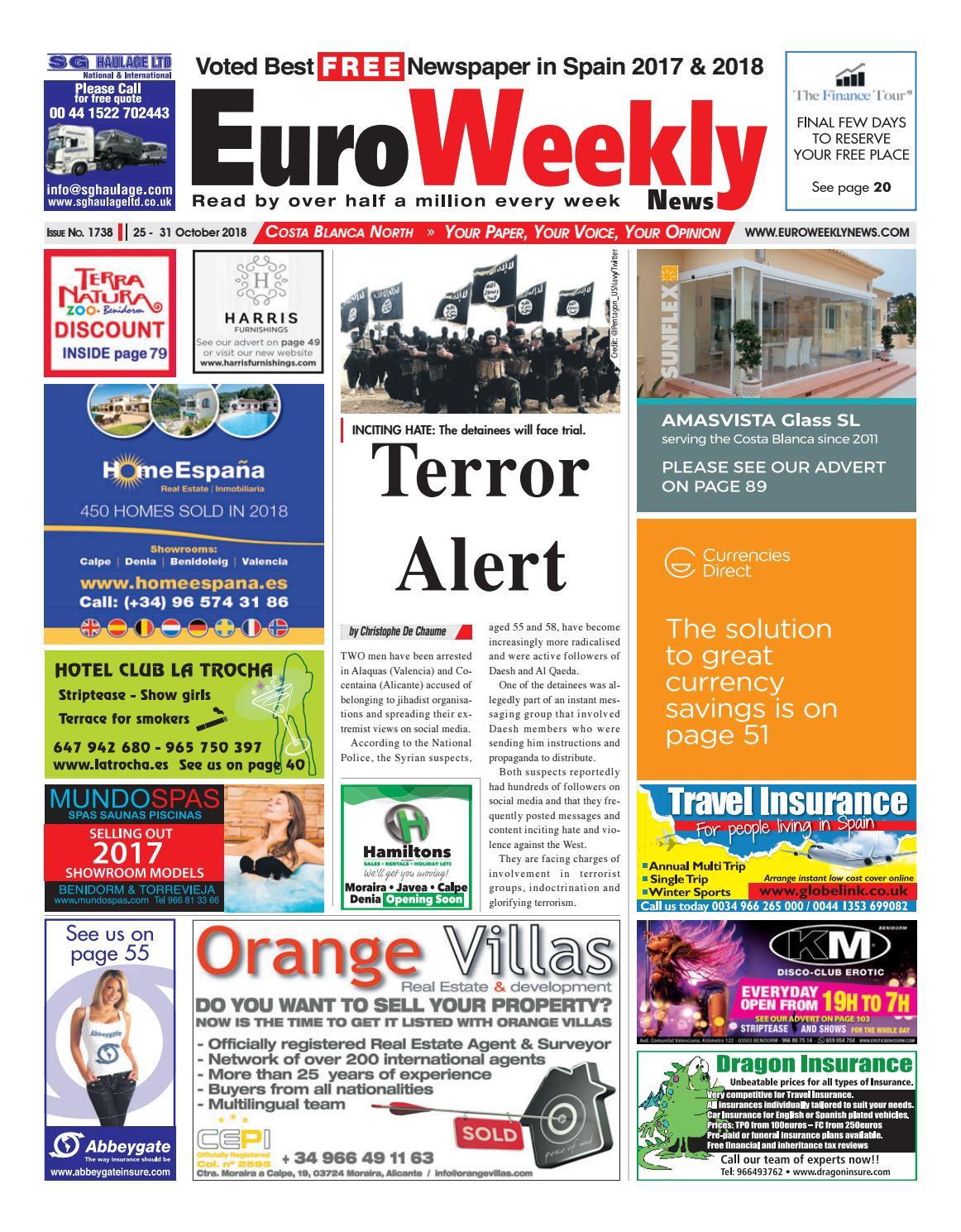 Euro Weekly News Costa de Almeria 25 31 July 2019 Issue