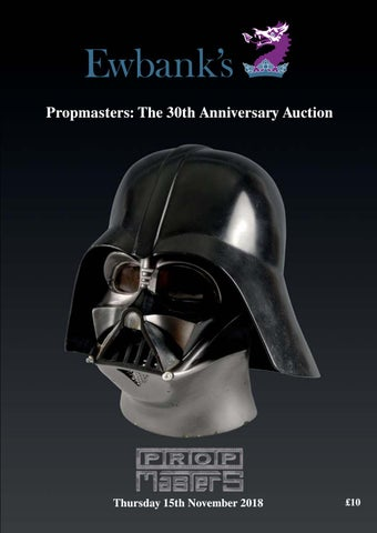 22f47c73ea4c Propmasters  30th Anniversary Auction by Andrew Ewbank - issuu