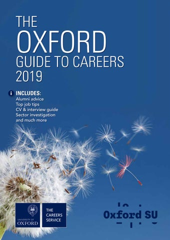 cf3210d5b27c0 The Oxford Guide to Careers 2019 by Oxford University Careers ...