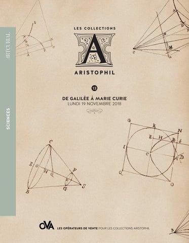 Aristophil   De Galilée à Marie Curie by Artcurial - issuu 2d223d062fb