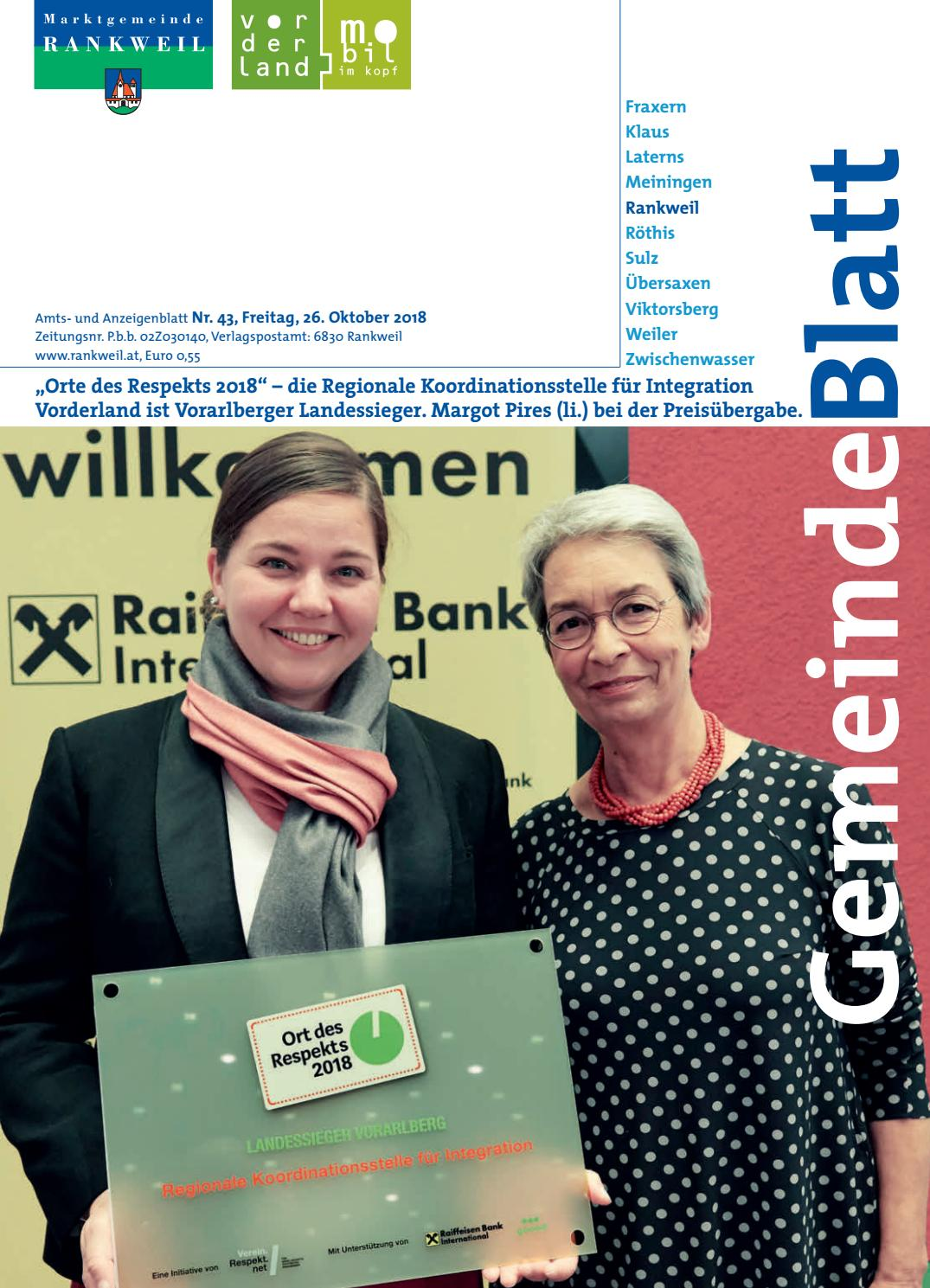 Partnersuche Mit Kontaktanzeigen Rankweil, Austria Dating