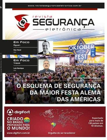 Revista Segurança Eletrônica - Edição 21 - Outubro de 2018 by ... a648b0e466