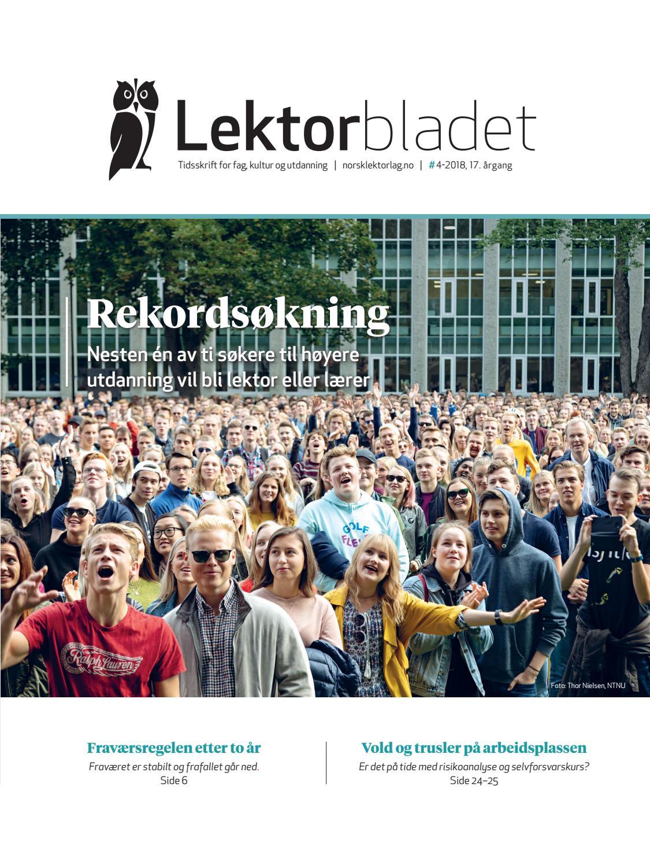 2e4c61545 Lektorbladet #4 2018 by Lektorbladet - issuu