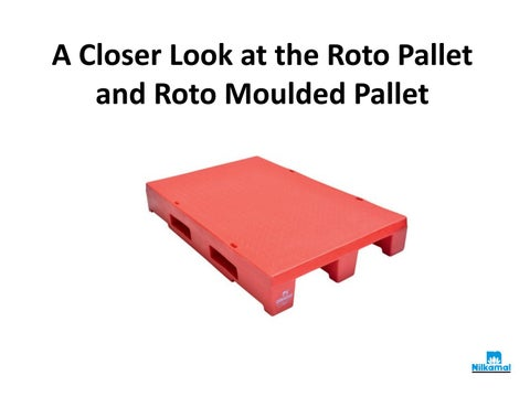 Miraculous A Closer Look At The Roto Pallet And Roto Moulded Pallet By Cjindustries Chair Design For Home Cjindustriesco
