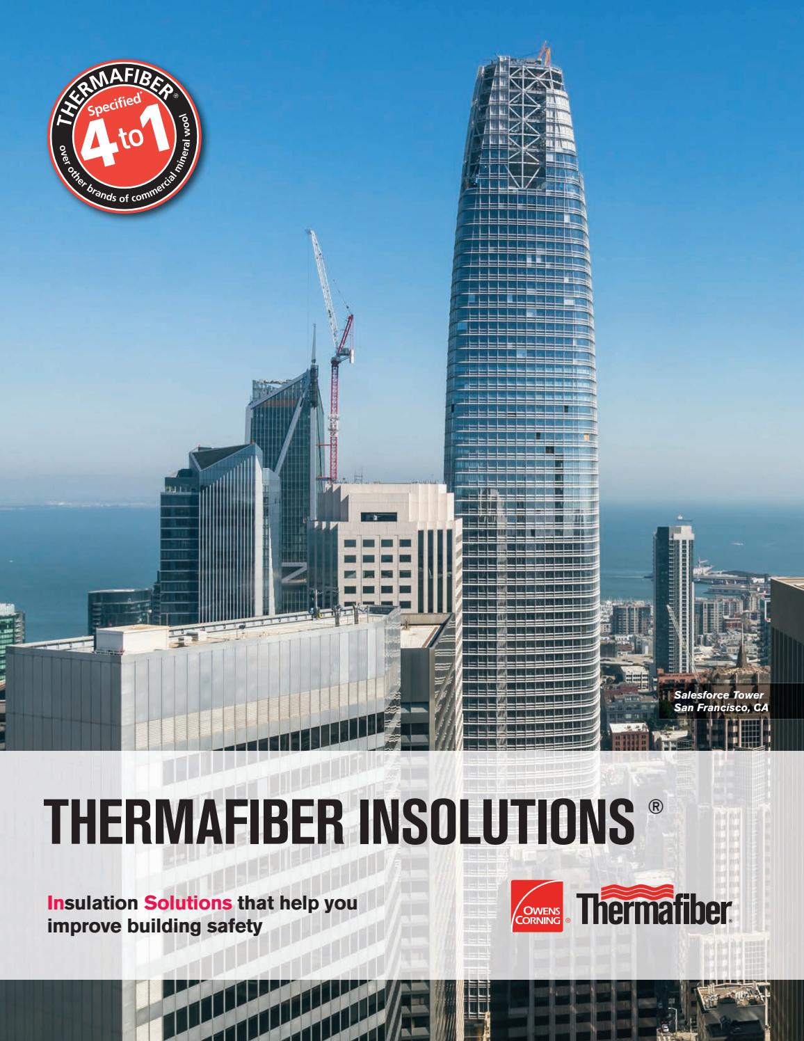 Thermafiber Insolutions Brochure By Thermafiber Issuu