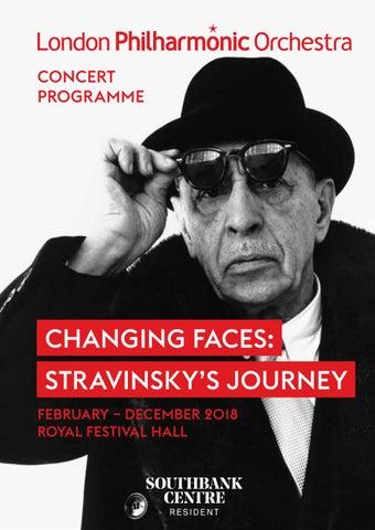 3b92a5c892 London Philharmonic Orchestra 3 Nov 2018 concert programme  The Rake s  Progress