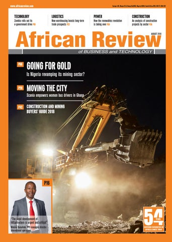 African Review August 2018 by Alain Charles Publishing - issuu