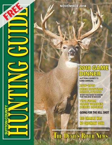 2018 sutton county hunting guide by randy mankin issuu2018 sutton county hunting guide