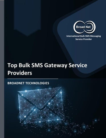 Top Bulk SMS Gateway Service Providers by BroadNet