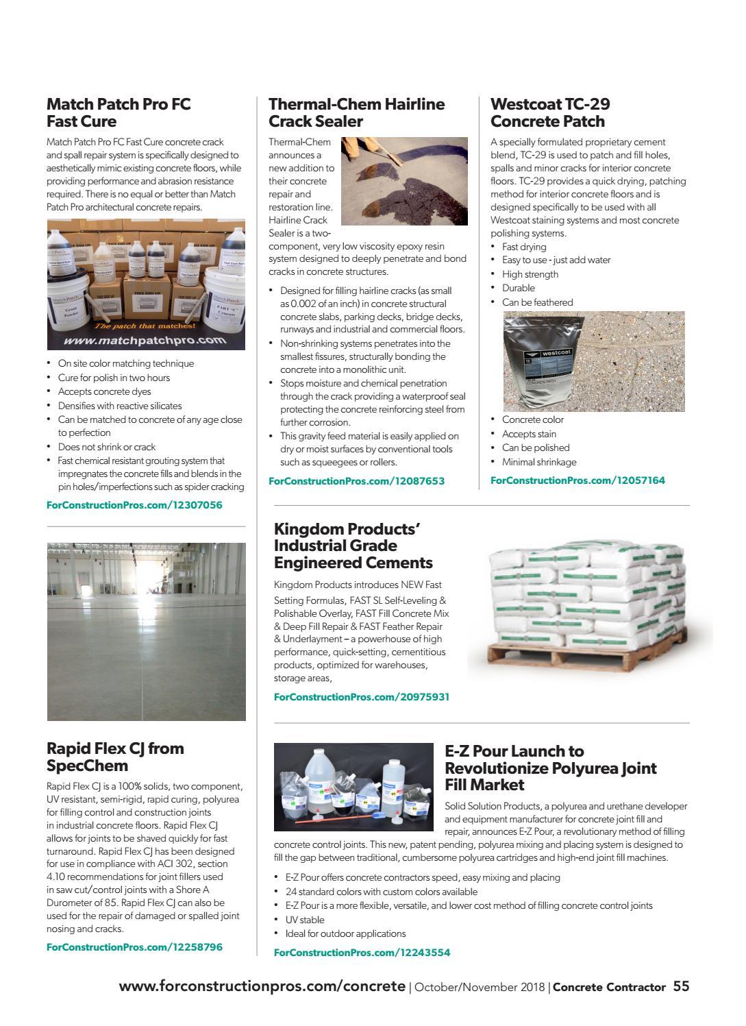 Concrete Contractor October/November 2018 by