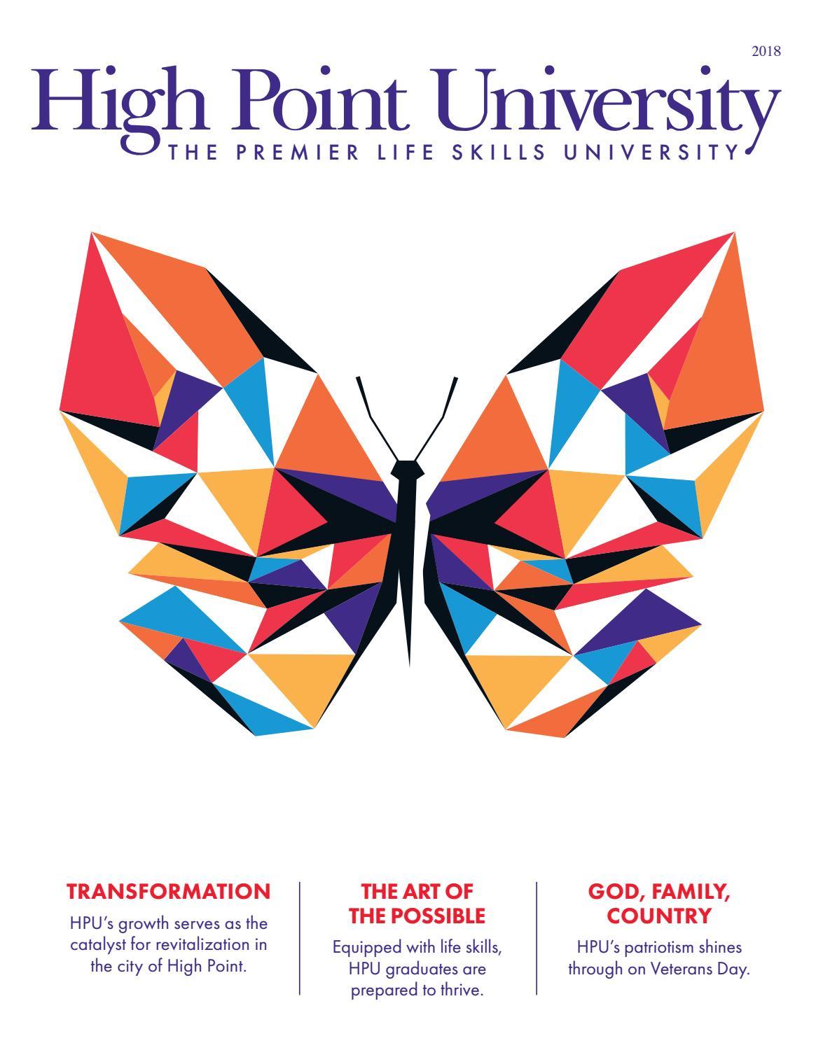 HPU Spring 2018 Magazine by High Point University - issuu