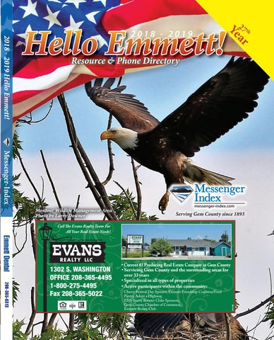 2018-2019 Hello Emmett Phonebook by APG-West (Idaho Press
