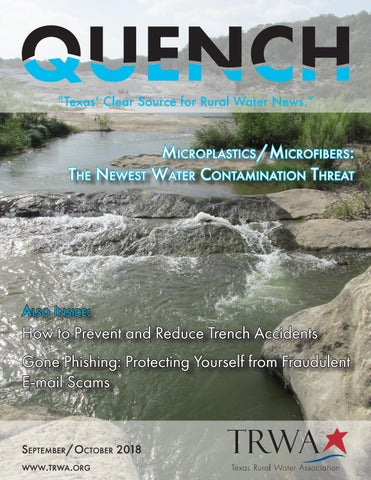 Quench Magazine: September/October 2018 by Texas Rural Water
