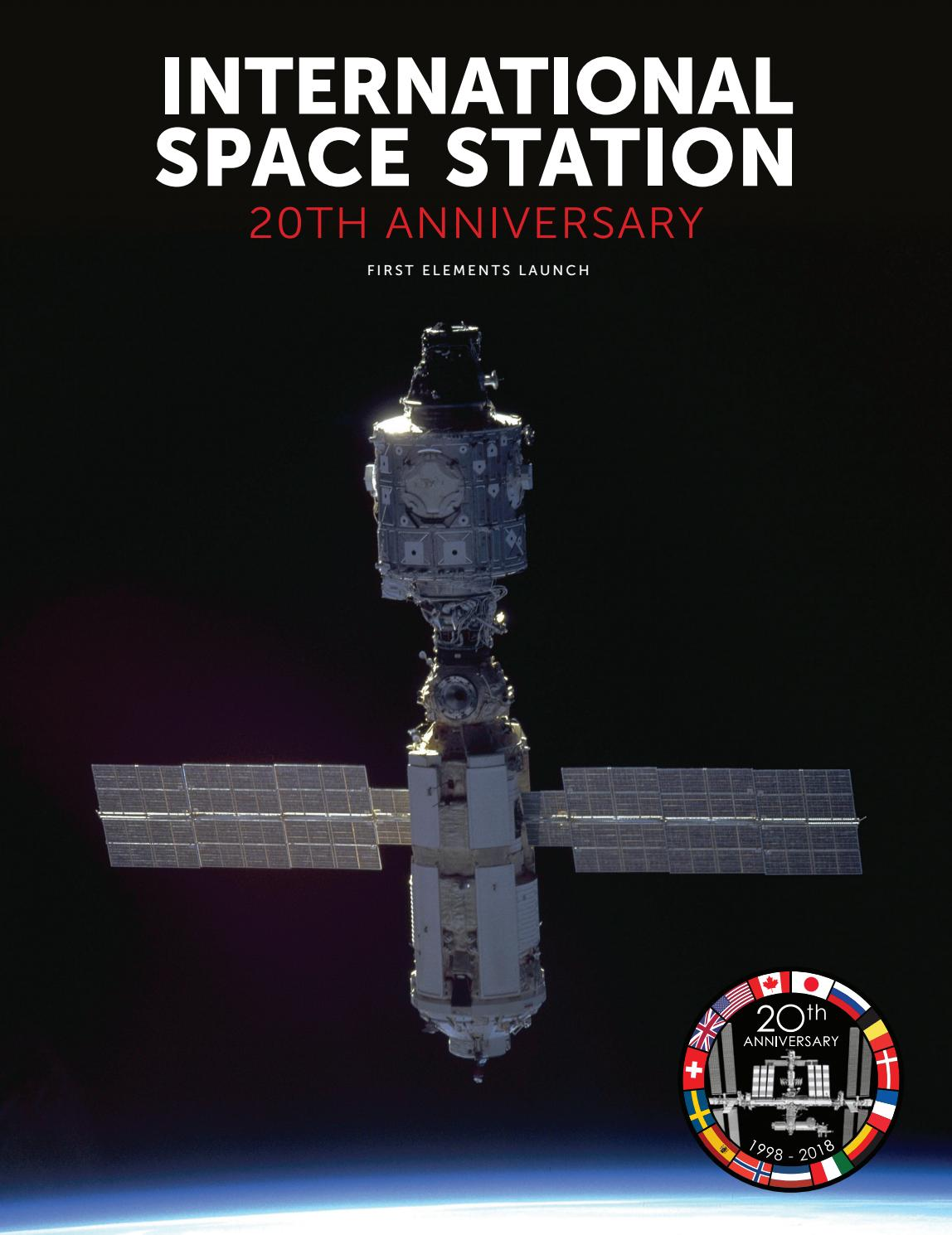 International Space Station 20th Anniversary: First Elements Launch by  Faircount Media Group - issuu