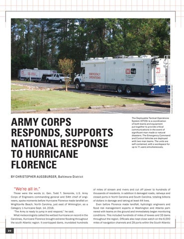 Page 24 of ARMY CORPS RESPONDS, SUPPORTS NATIONAL RESPONSE TO HURRICANE FLORENCE