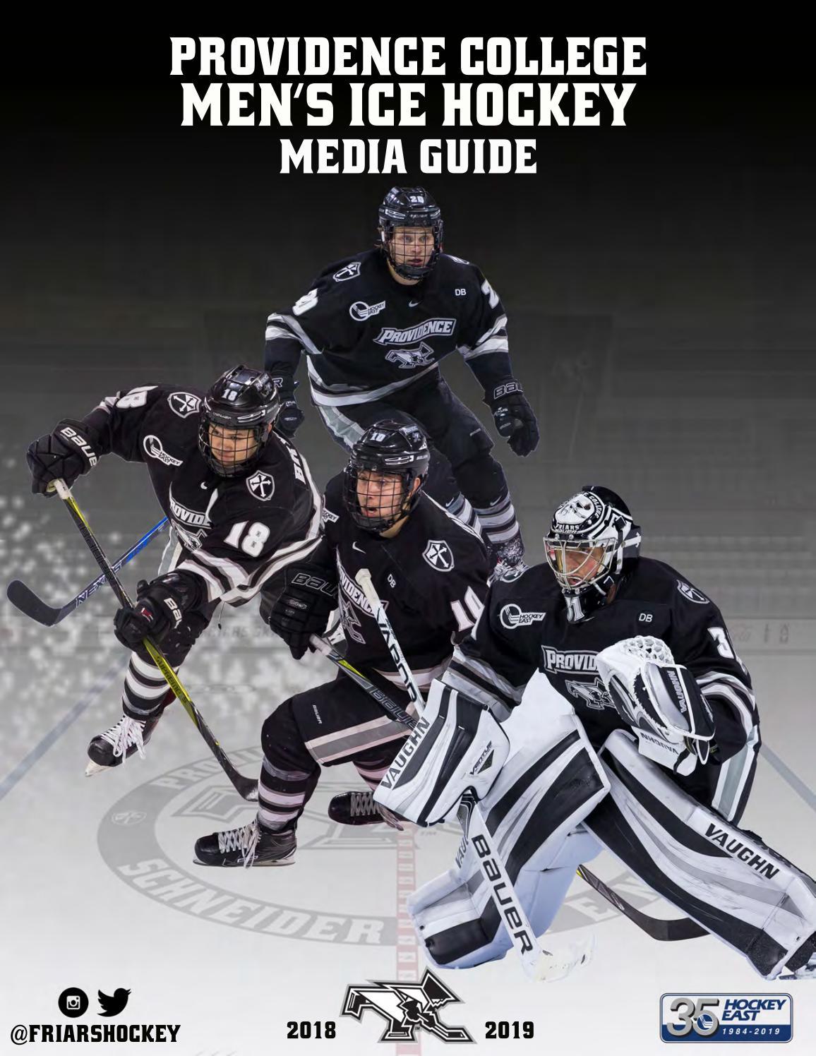 2018 19 Providence College Men S Hockey Media Guide By Providence