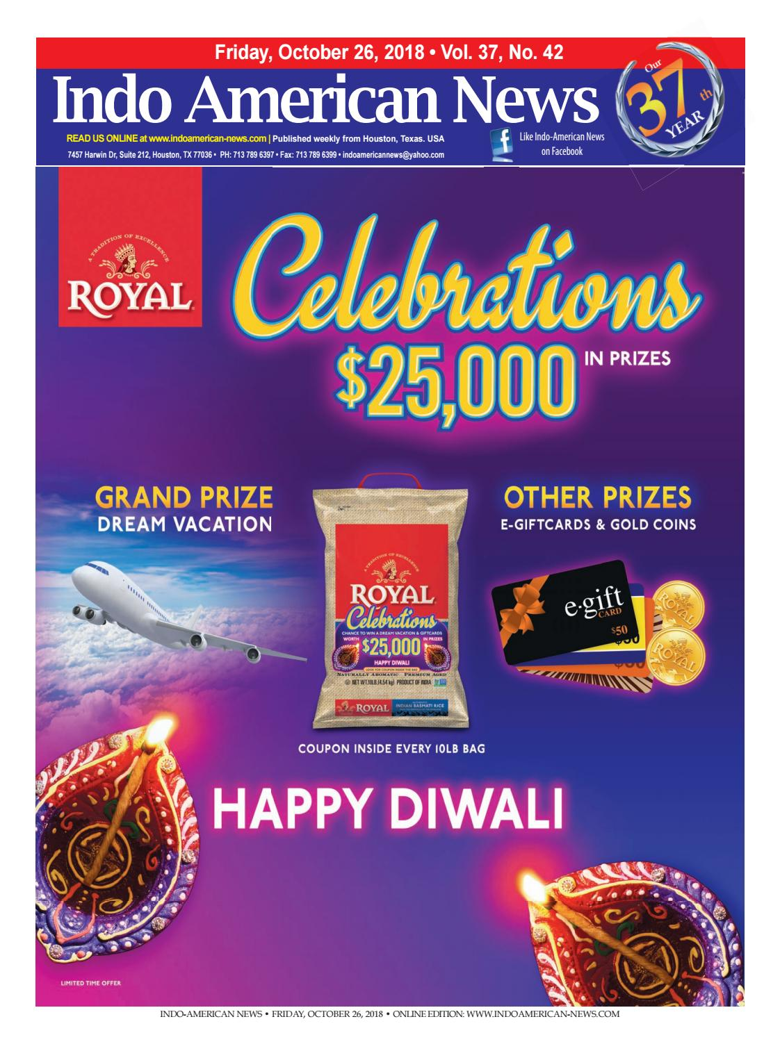 patel brothers diwali sale 2020 flyer