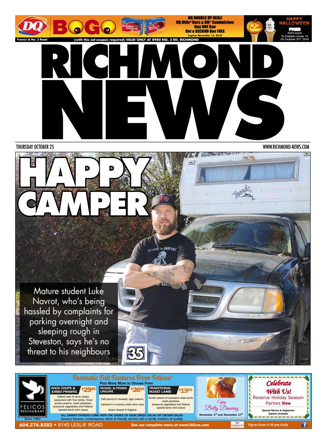 Richmond News October 25 2018 By Issuu Intermittent Stalling Problem 8211 Troubleshooting Car Ignition Systems