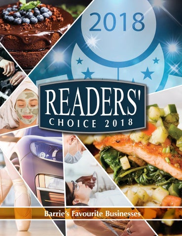Readers' Choice 2018 by GoodLife Magazine - Simcoe County