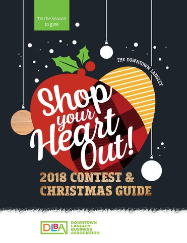 The Downtown Langley Shop Your Heart Out 2018 Contest