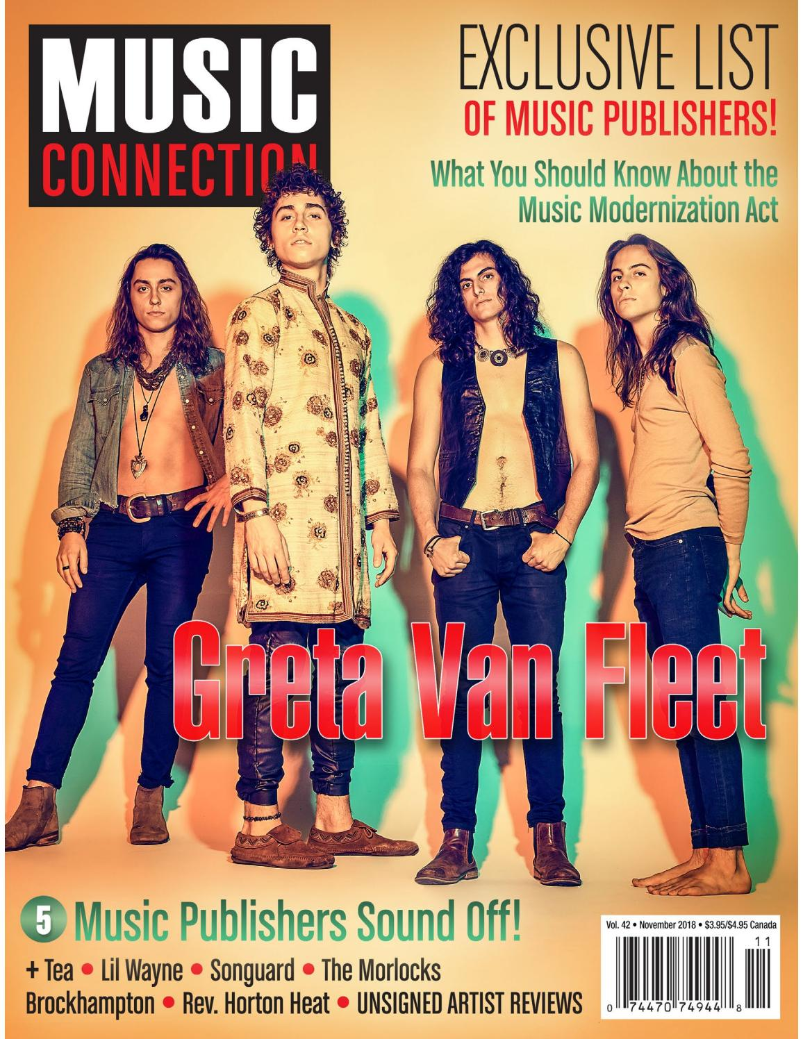 eb201f4aa41efc Music Connection November 2018 by Music Connection - issuu