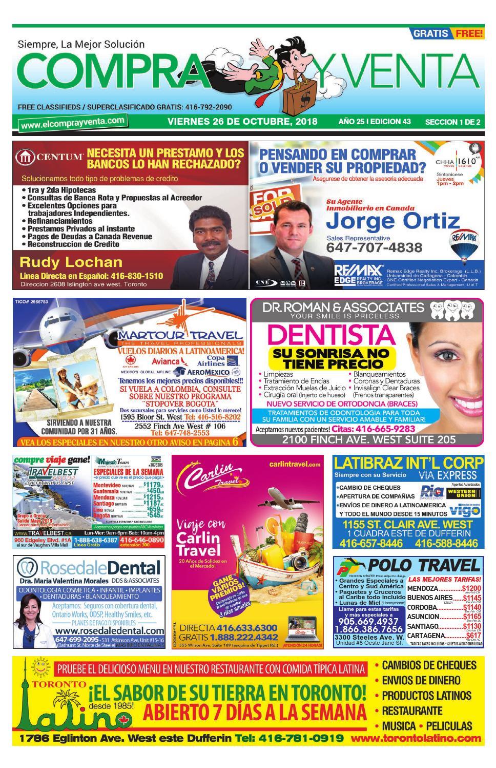 d001a9986 Compra y Venta Edicion #43. 2018 by elcomprayventa - issuu
