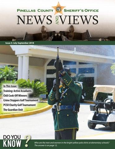 PCSO News & Views: 2018 Quarter 3 by Pinellas County