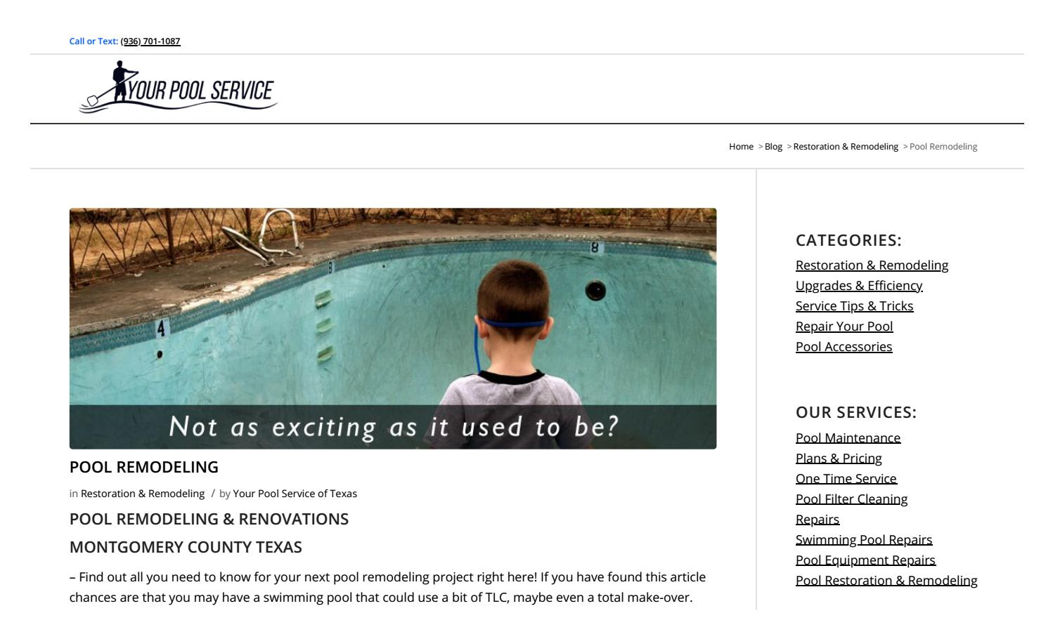 Swimming Pool Remodeling Guide by Your Pool Service - issuu