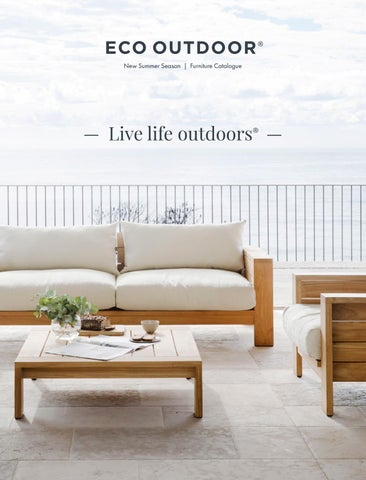 Outdoor Furniture Catalogue 2018 2019 By Eco Outdoor Issuu