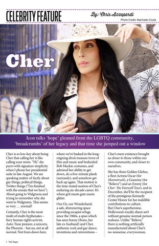 Page 4 of Our Cher Interview