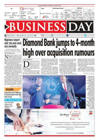 860c3a2d408 BusinessDay 26 Oct 2018 by BusinessDay - issuu