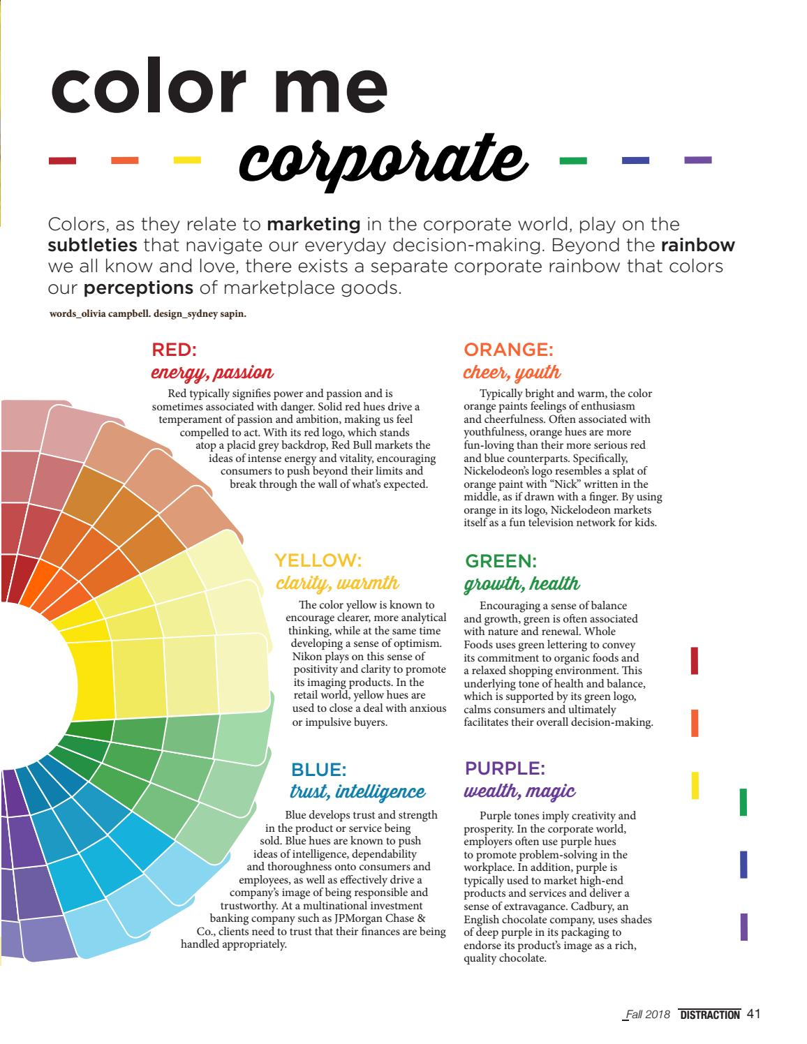How colors make us feel how colors may affect your - How colors make you feel ...