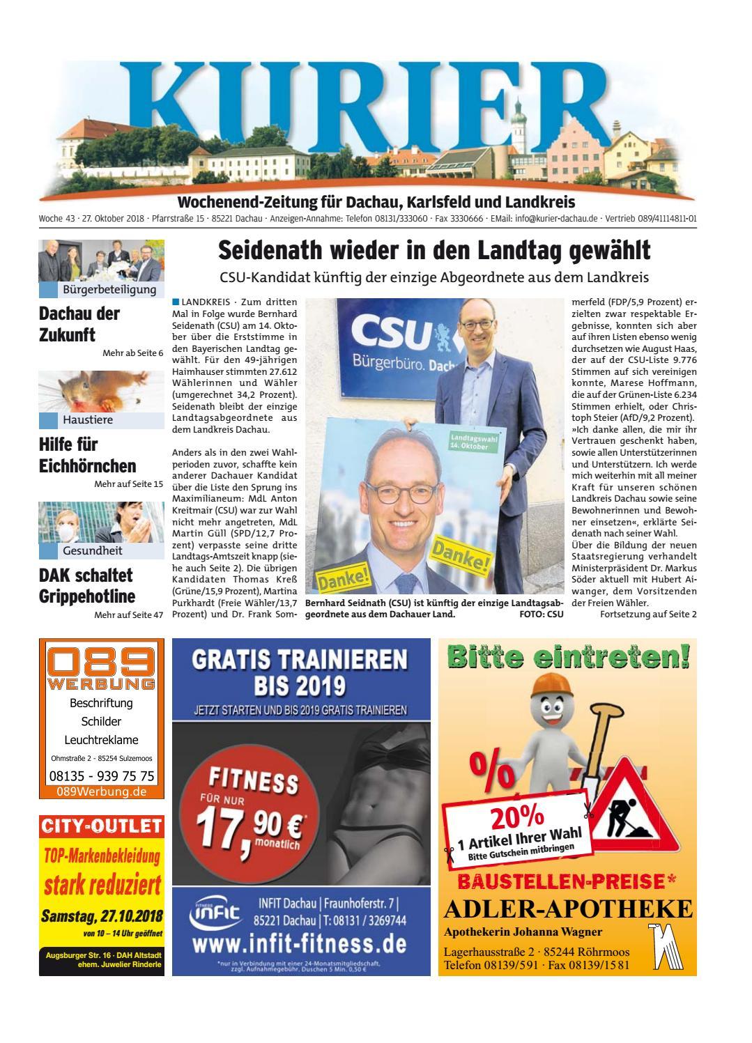 ecfd656a6e236 KW 43-2018 by Wochenanzeiger Medien GmbH - issuu